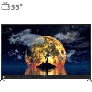 تلویزیون ال ای دی هوشمند جی پلاس مدل GTV-55JU812N سایز ۵۵ اینچ