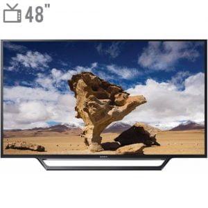 تلویزیون ال ای دی هوشمند سونی مدل KDL-48W650D سایز ۴۸اینچ