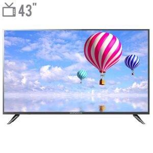 تلویزیون ال ای دی دوو مدل DLE-43H1800-DPB سایز ۴۳ اینچ به همراه کارت هدیه ۴۰۰ هزار تومانی