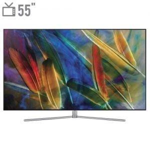 تلویزیون کیولد هوشمند سامسونگ مدل ۵۵Q77 سایز ۵۵ اینچ Samsung 55Q77 Smart QLED TV 55 Inch