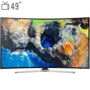تلویزیون ال ای دی هوشمند سامسونگ مدل ۴۹MU7985 سایز ۴۹ اینچ