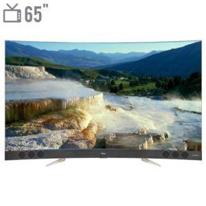 تلویزیون ال ای دی هوشمند خمیده تی سی ال مدل ۶۵X3CUS سایز ۶۵ اینچ