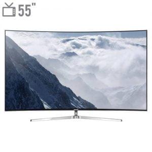 تلویزیون ال ای دی هوشمند خمیده سامسونگ مدل ۵۵MS9995 سایز ۵۵ اینچ