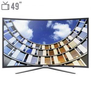 تلویزیون ال ای دی هوشمند خمیده سامسونگ مدل ۴۹M6975 سایز ۴۹ اینچ