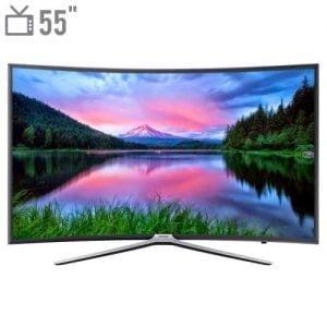 تلویزیون ال ای دی هوشمند خمیده سامسونگ مدل ۵۵N6950 سایز ۵۵ اینچ