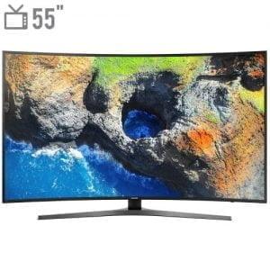 تلویزیون ال ای دی هوشمند خمیده سامسونگ مدل ۵۵NU7950 سایز ۵۵ اینچ