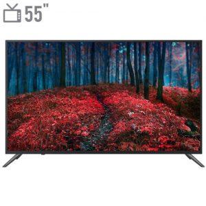 تلویزیون ال ای دی هوشمند شهاب مدل SH102U1 سایز ۵۵ اینچ