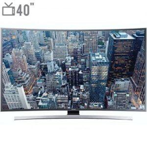 تلویزیون ال ای دی هوشمند خمیده سامسونگ مدل ۴۰JUC7920 سایز ۴۰ اینچ