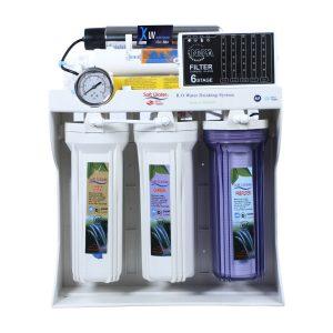 دستگاه تصفیه آب خانگی سافت واتر مدل RO-06
