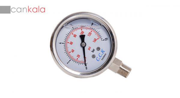 گیج فشارسنج عقربه ای دستگاه تصفیه کننده آب خانگی سی سی کا مدل RO-R6