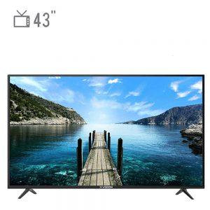 تلویزیون ال ای دی هوشمند ایکس ویژن مدل ۴۳XK580 سایز ۴۳ اینچ