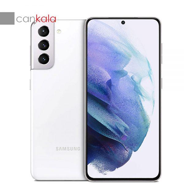 گوشی موبایل سامسونگ مدل Galaxy S21 5G Phantom White SM-G991B/DS دو سیم کارت ظرفیت 256 گیگابایت