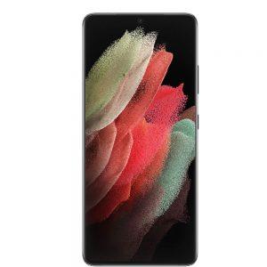 گوشی موبایل سامسونگ مدل Galaxy S21 5G Ultra Phantom Black SM-G998B/DS دو سیم کارت ظرفیت ۱۲۸ گیگابایت