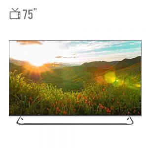 تلویزیون ال ای دی هوشمند جی پلاس مدل GTV-75KE821S سایز ۷۵ اینچ